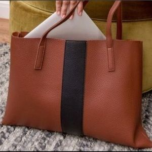 Vegan Leather Color Block Vince Camuto Tote